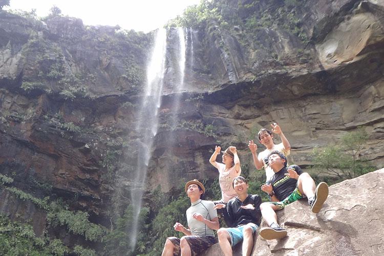 ピナイサーラの滝ハリキリ1日コース