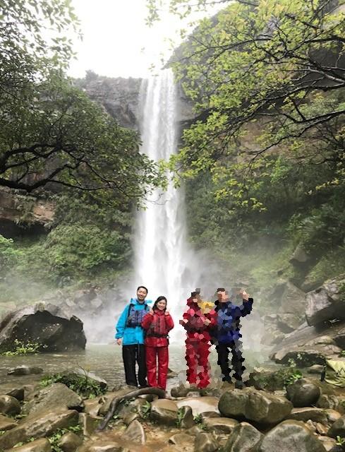 やっぱり雨なの、カヌー+由布島水牛車観光コース!
